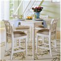 American Drew Camden - Light Rectangular Gathering Table - 920-705 - Gathering Table Shown with Stools