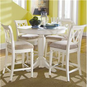 American Drew Camden - Light Pub Table with Stools