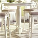 "American Drew Camden - Light 42"" Round Bar Height Table - Item Number: 920-706+B03"