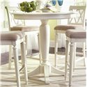 American Drew Camden - Light Bar Height Pedestal Table - Item Number: 920-706R Bar Height