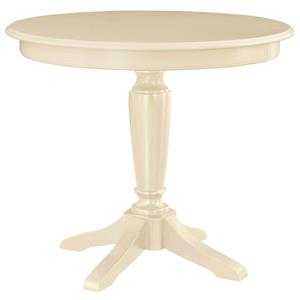 American Drew Camden - Light Round Counter Height Pedestal Table