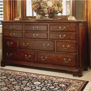 American Drew Cherry Grove 45th Triple Dresser