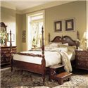 American Drew Cherry Grove 45th Queen Low Poster Bed - Item Number: 791-383R