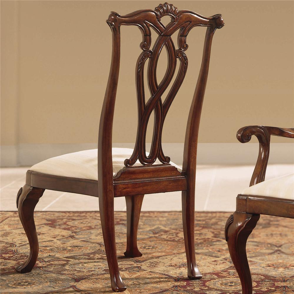 Cherry Grove 45th Pierced Back Side Chair by American Drew at Stoney Creek Furniture