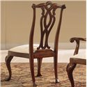 American Drew Cherry Grove 45th Dining Side Chair with Pierced Back - 792-654