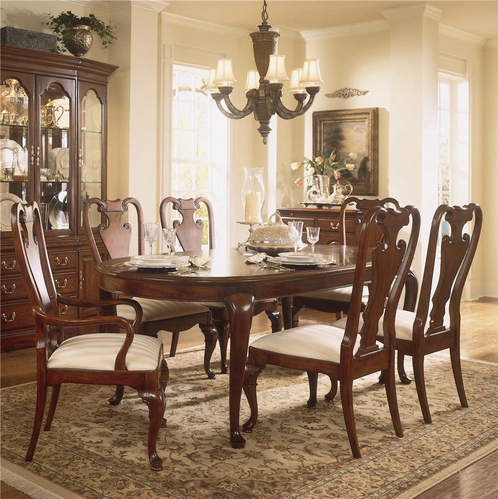 Traditional Dining Room Furniture Sets: American Drew Cherry Grove 45th Traditional Oval Dining