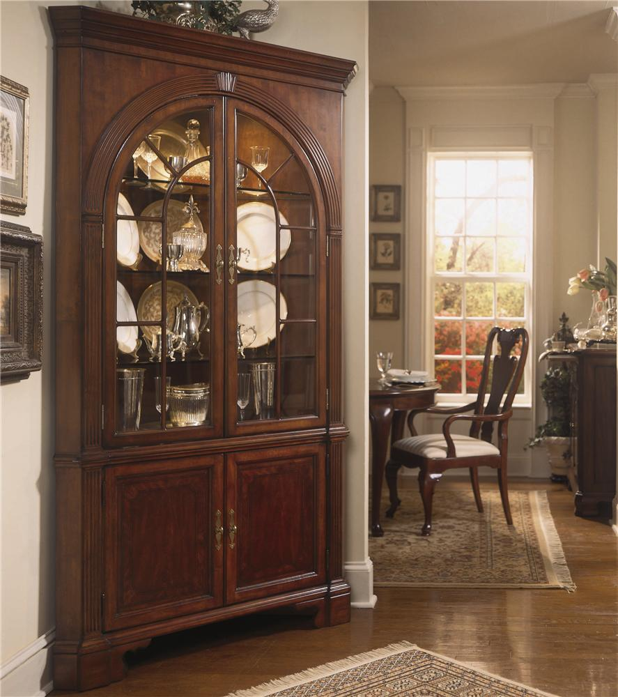 Cherry Grove 45th Traditional Corner China Cabinet By American Drew