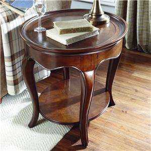 American Drew Cherry Grove Oval End Table