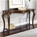 American Drew Cherry Grove Sofa Table with Fixed Shelf - 091-925
