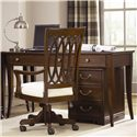 American Drew Cherry Grove Home Office Desk with Drop Down Keyboard Tray - 091-941