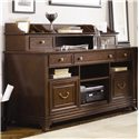 American Drew Cherry Grove Home Office Hutch - 091-943 - Shown With Coordinating Home Office Credenza