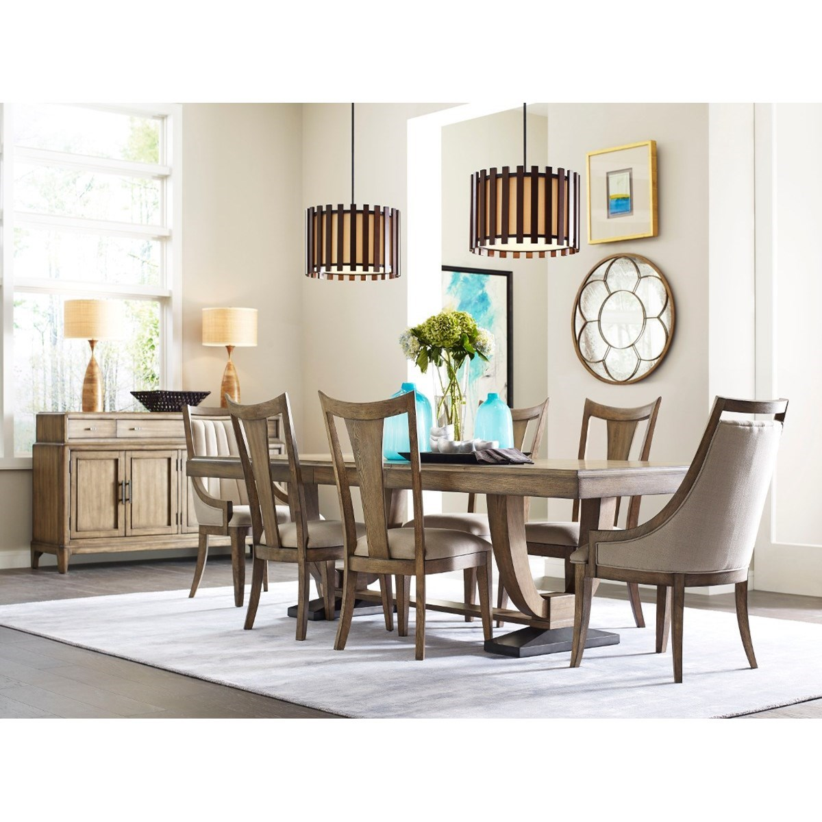 American Drew EVOKE  Formal Dining Room Group` - Item Number: 509 Dining Room Group 1