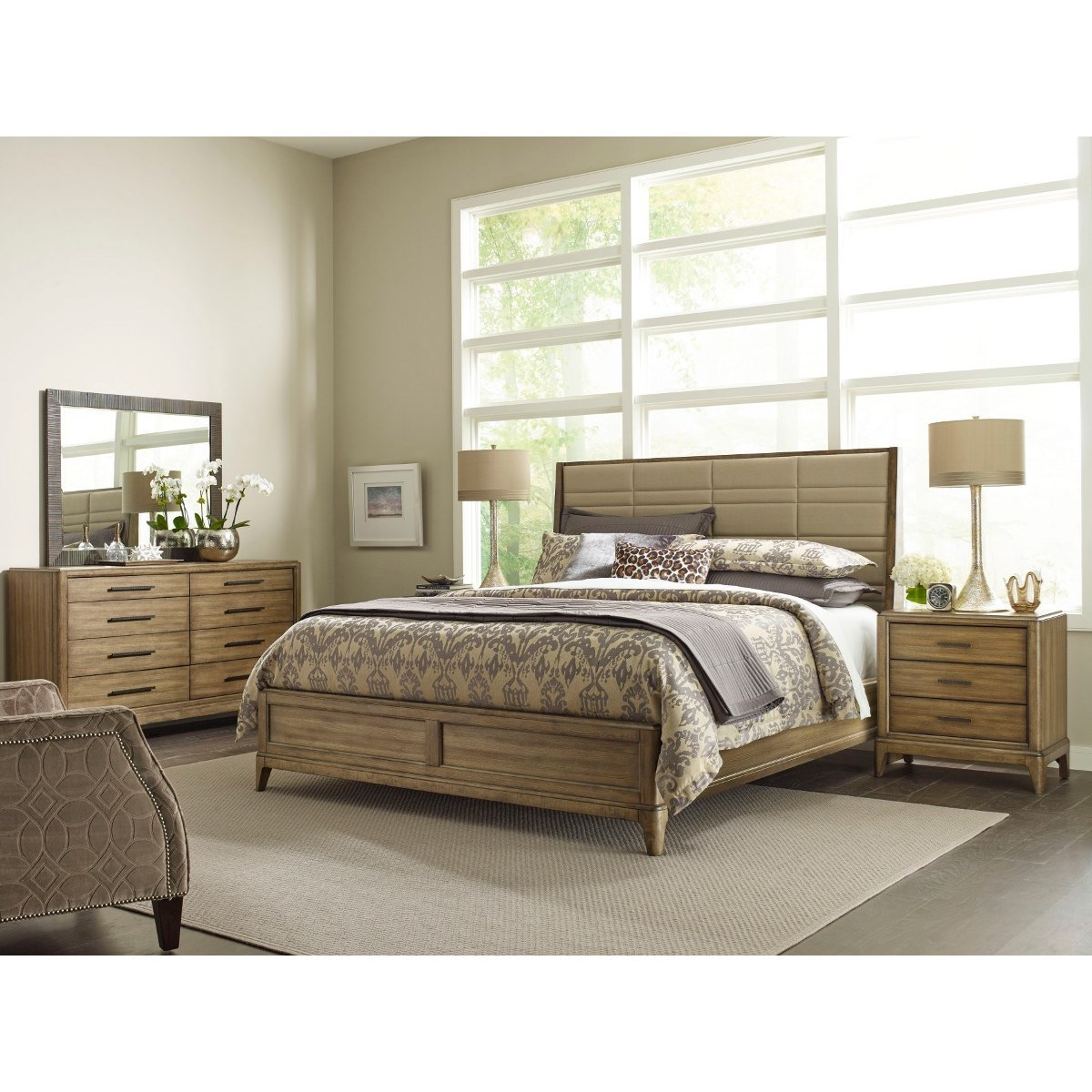 American Drew EVOKE  California King Bedroom Group - Item Number: 509 CK Bedroom Group 2