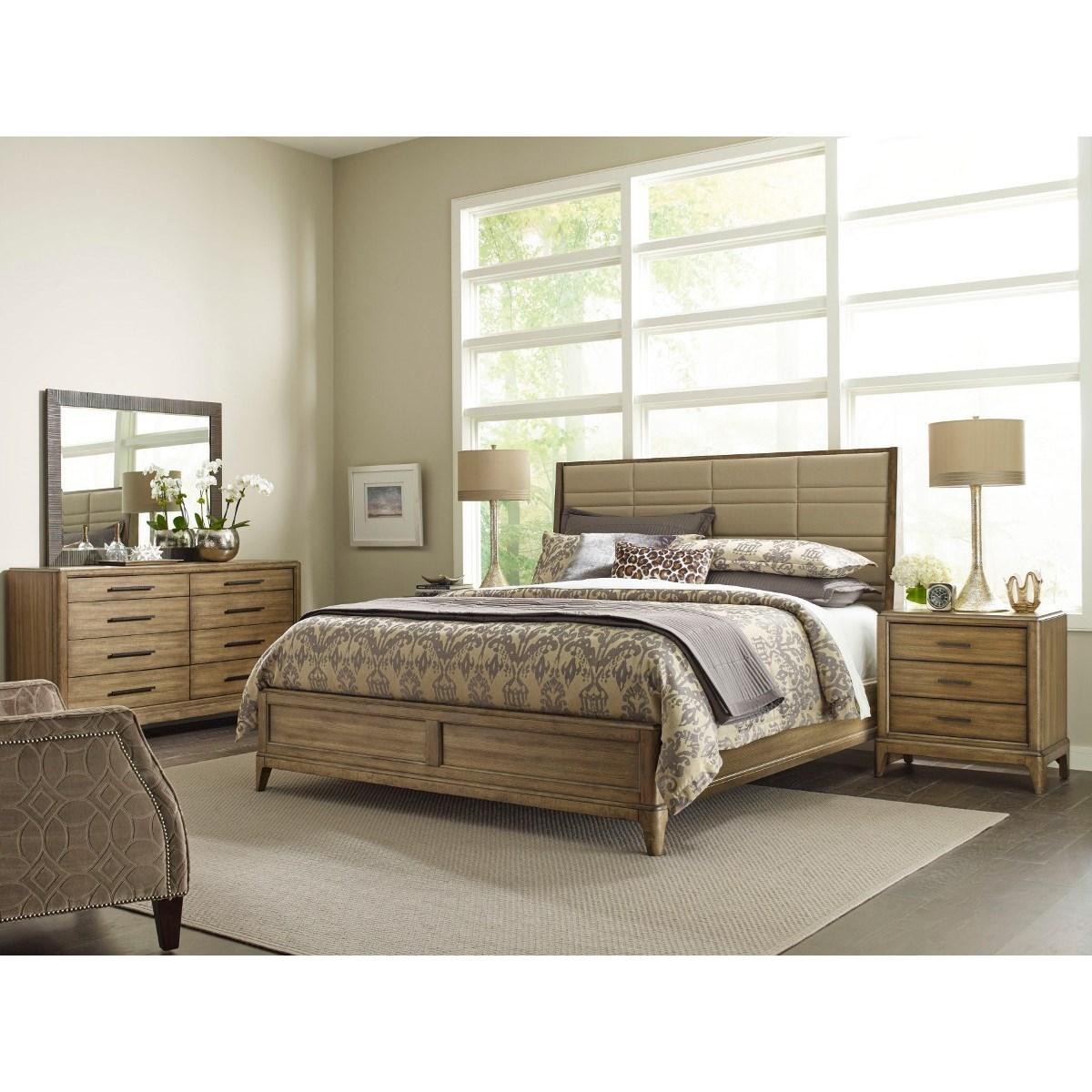 American Drew EVOKE  Queen Bedroom Group - Item Number: 509 Q Bedroom Group 2