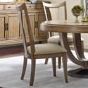 American Drew EVOKE  Slat Back Side Chair - Item Number: 509-636
