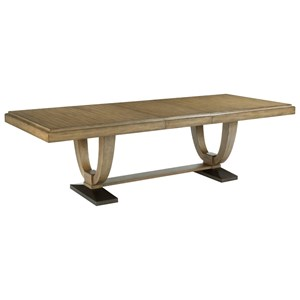 American Drew EVOKE  Trestle Dining Table