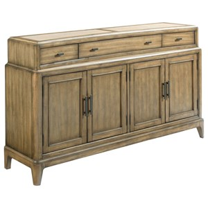 American Drew EVOKE  Sideboard with Stone Top