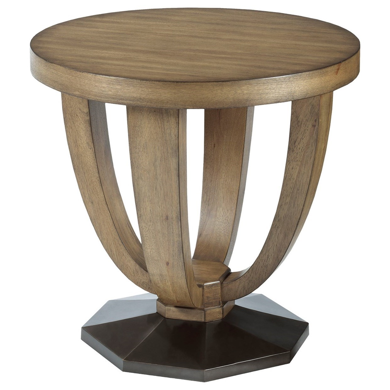 American Drew EVOKE  Round End Table - Item Number: 509-918