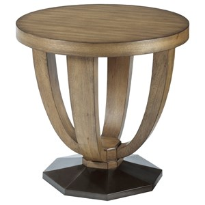 American Drew EVOKE  Round End Table