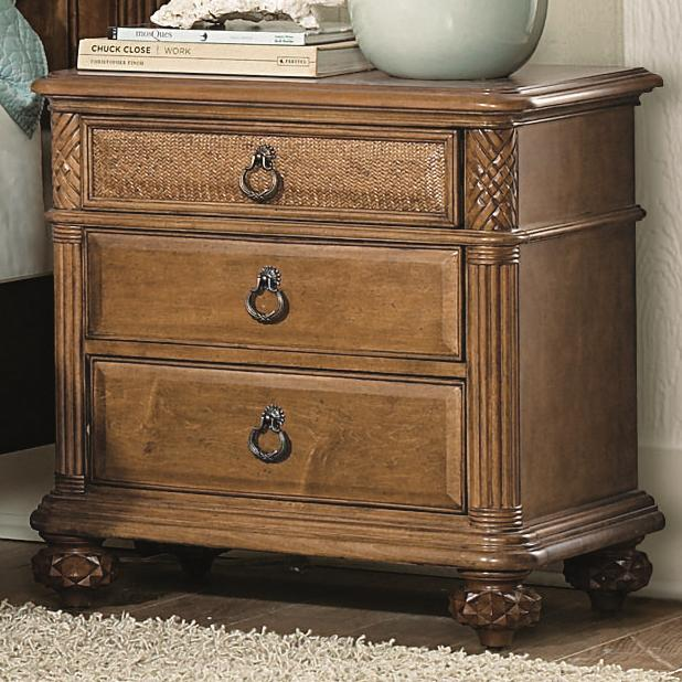 American Drew Grand Isle Nightstand - Item Number: 079-420
