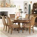 American Drew Grand Isle 7 Piece Set - Item Number: 079-701R+2x639+4x638