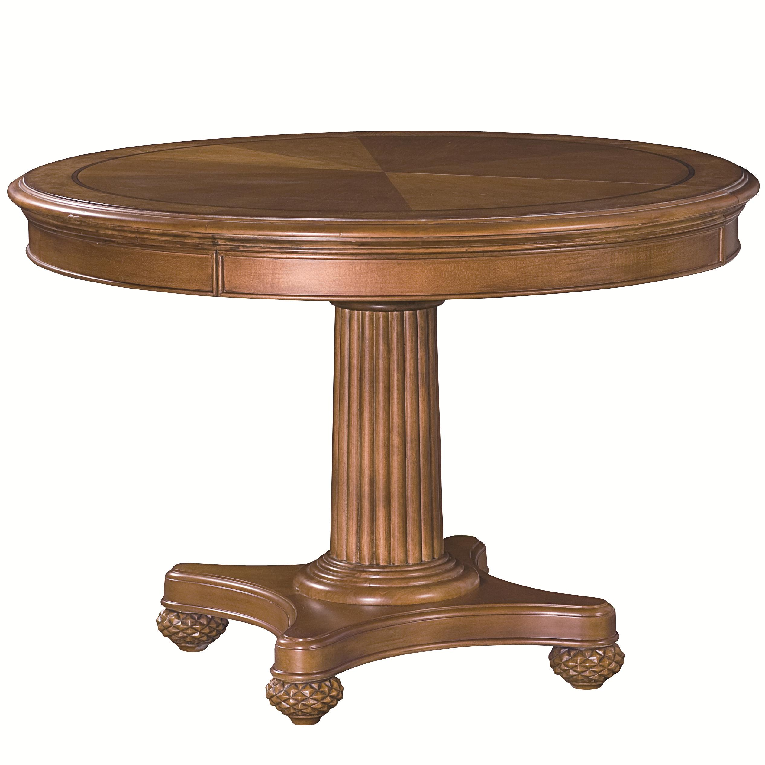 American Drew Grand Isle Round Dining Table - Item Number: 079-701R