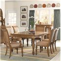 American Drew Grand Isle 7 Piece Set - Item Number: 079-760+2x639+4x638