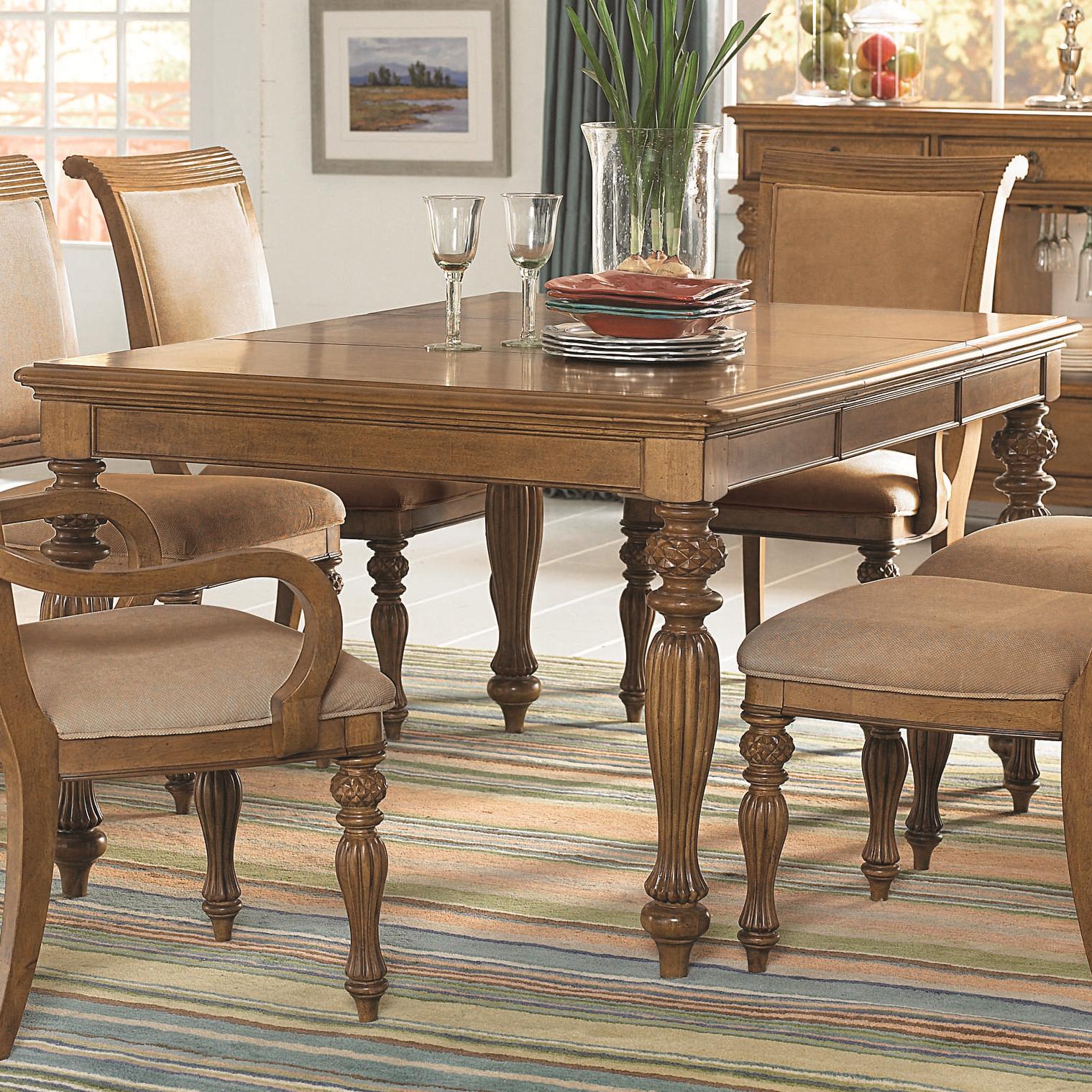 American Drew Grand Isle Rectangular Leg Table - Item Number: 079-760