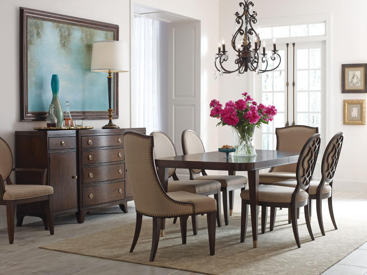 American Drew Grantham Hall Formal Dining Room Group 1 - Item Number: 512 Dining Room Group 1