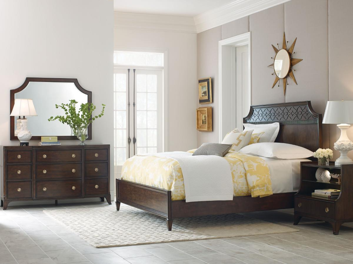 American Drew Grantham Hall Full/Queen Bedroom Group 1 - Item Number: 512 FQ Bedroom Group 1