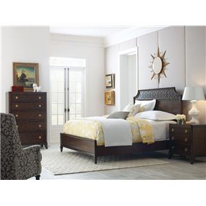 American Drew Grantham Hall King Bedroom Group 4