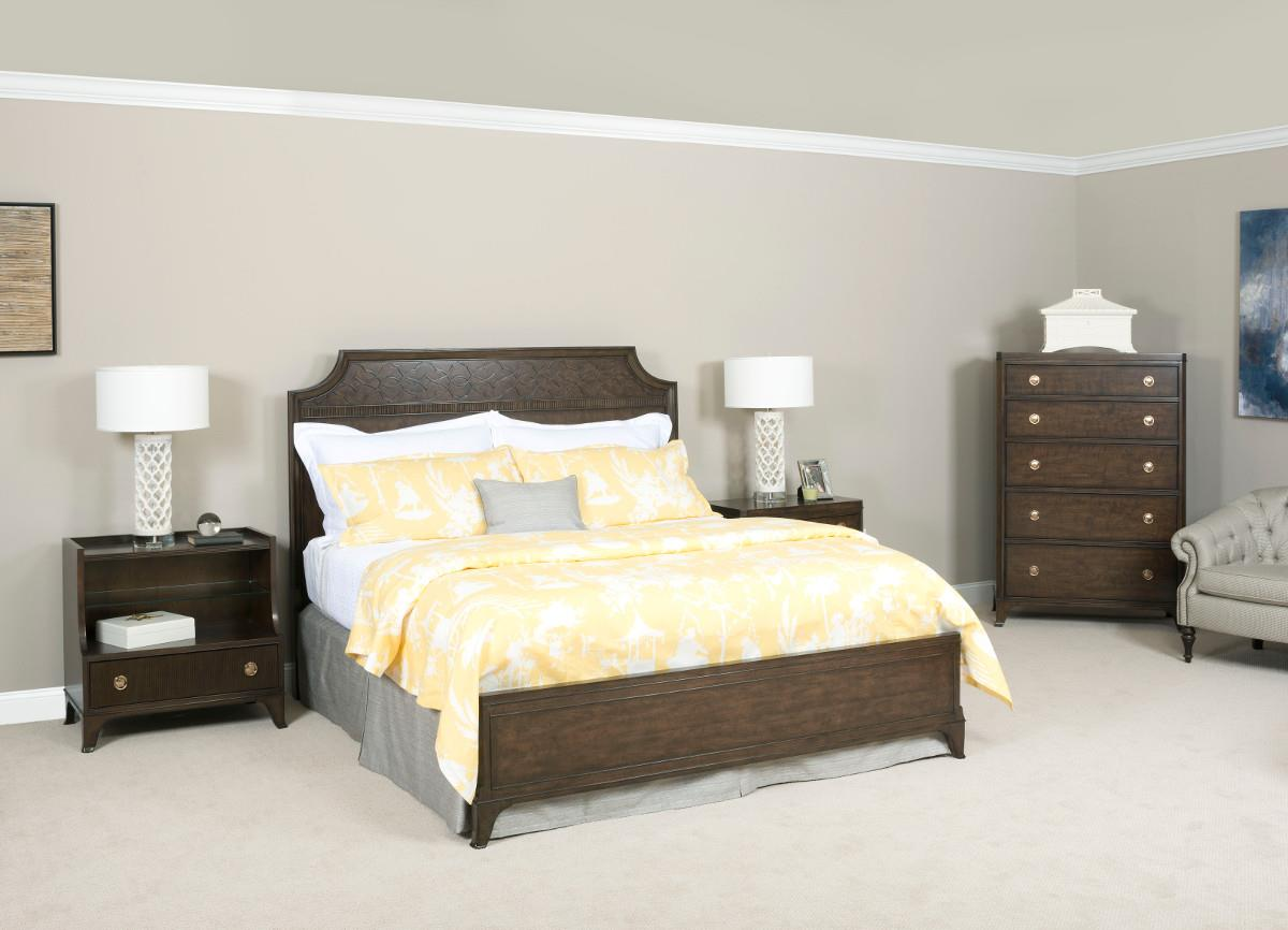 American Drew Grantham Hall Full/Queen Bedroom Group 3 - Item Number: 512 FQ Bedroom Group 3