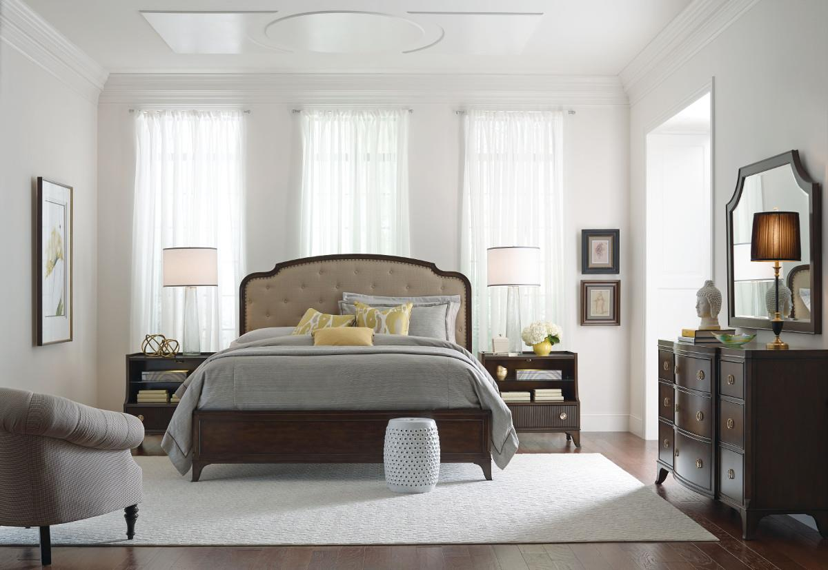 American Drew Grantham Hall Queen Bedroom Group 1 - Item Number: 512 Q Bedroom Group 1