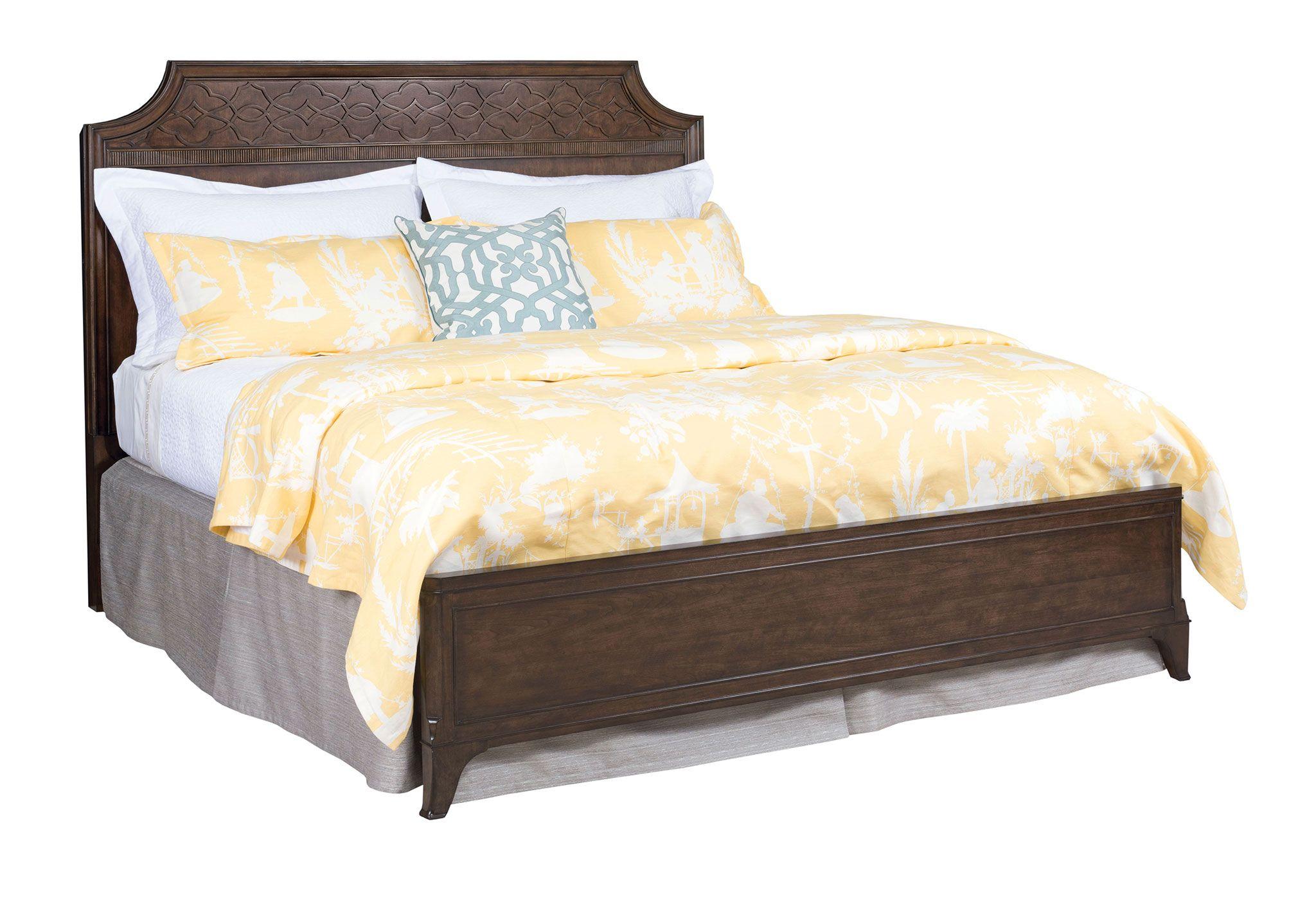 American Drew Grantham Hall King Panel Bed   - Item Number: 512-336R
