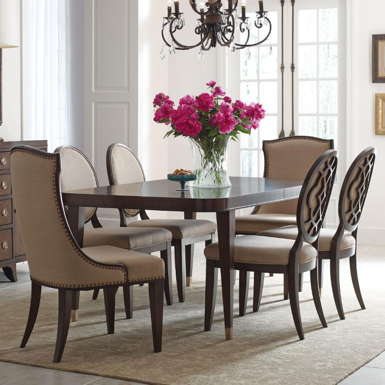 American Drew Dining Room Furniture: American Drew Grantham Hall 7 Piece Table And Chair Set