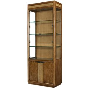 American Drew Grove Point Bunching Curio Cabinet