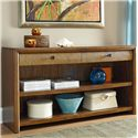 American Drew Grove Point Console Table with 2 Drawers and 2 Shelves - 314-925