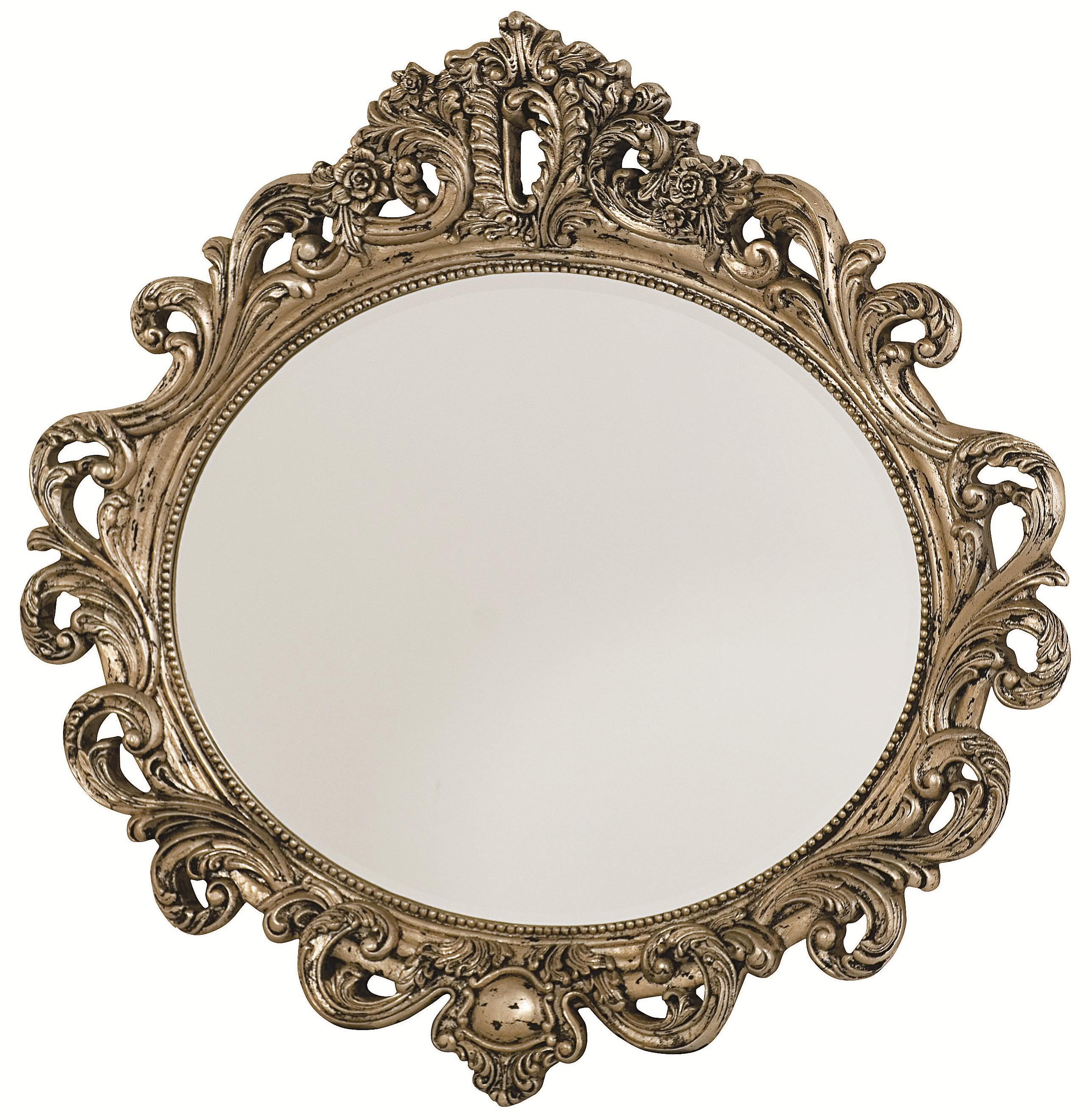 American Drew Jessica McClintock Home - The Boutique Collection Oval Decorative Mirror - Item Number: 217-040