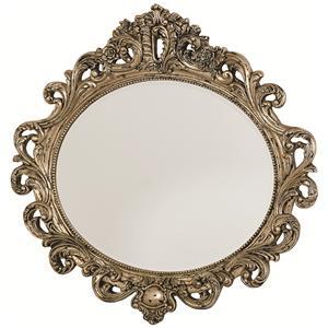 American Drew Jessica McClintock Home - The Boutique Collection Oval Decorative Mirror
