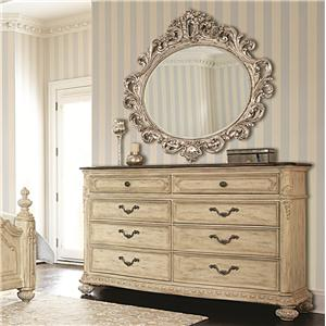 American Drew Jessica McClintock Home - The Boutique Collection Dresser & Mirror