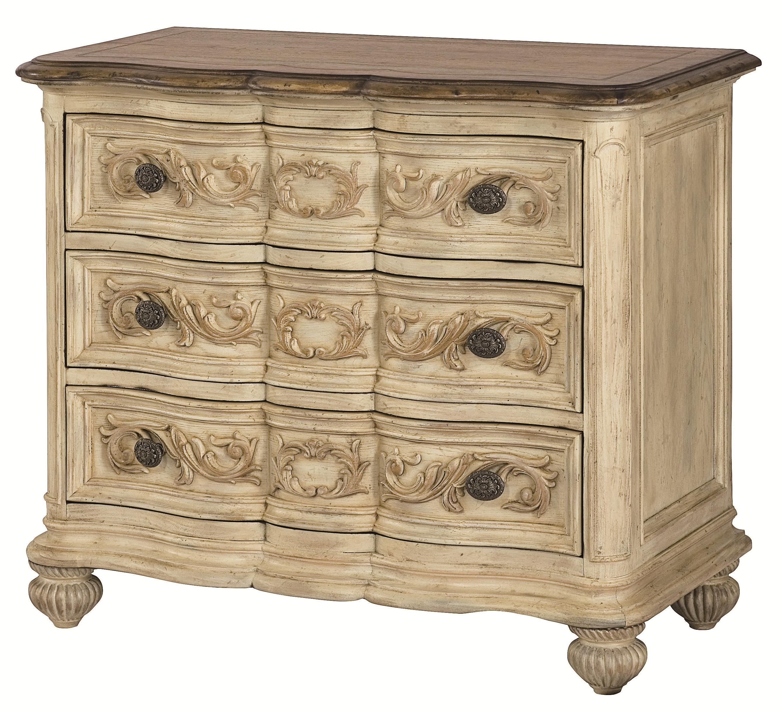American Drew Jessica McClintock Home   The Boutique Collection Bachelor  Chest   Item Number: 217