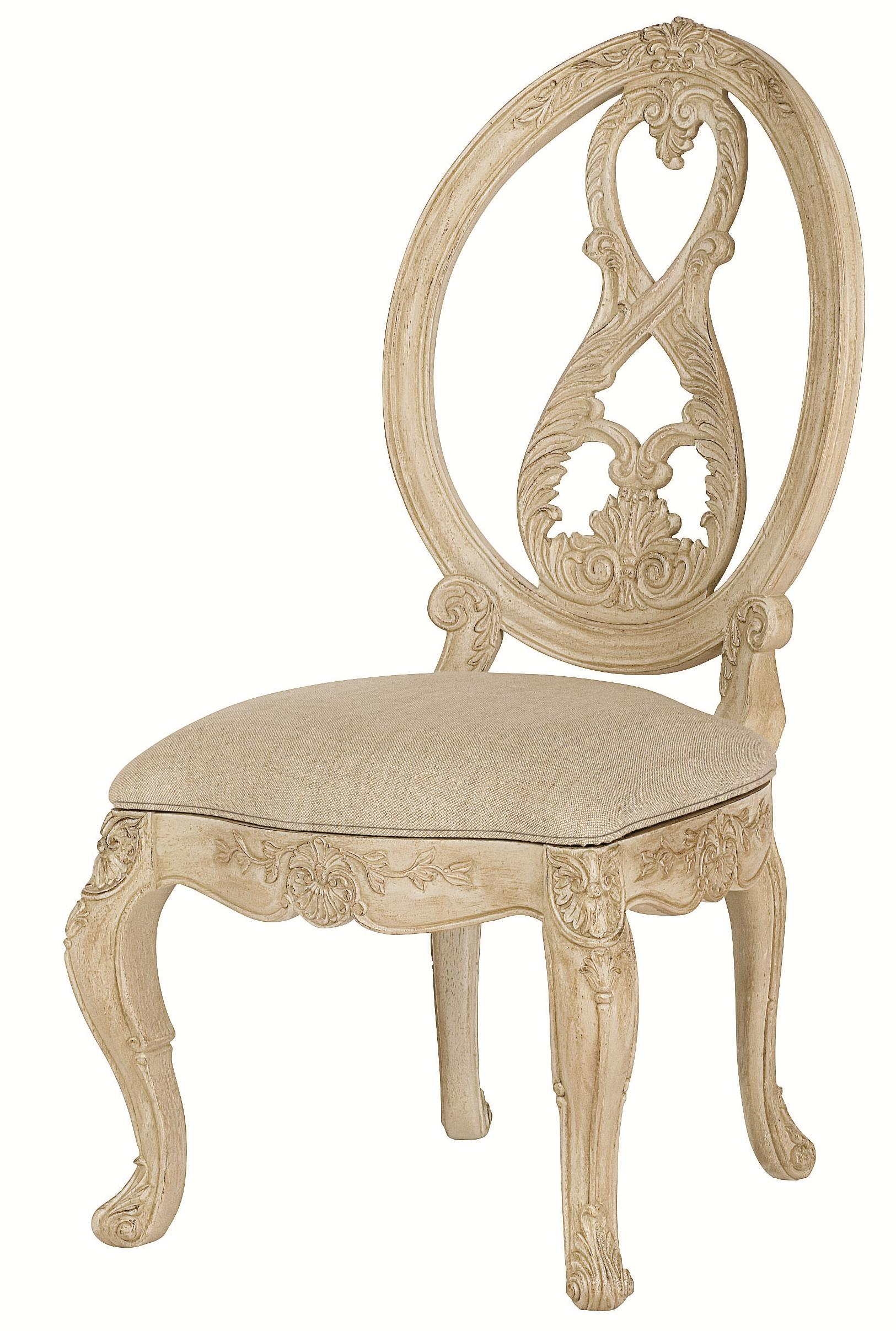 American Drew Jessica McClintock Home - The Boutique Collection Splat Back Side Chair - Item Number: 217-622W