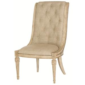 American Drew Jessica McClintock Home - The Boutique Collection Upholstered Side Chair