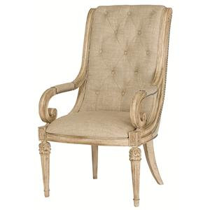 American Drew Jessica McClintock Home - The Boutique Collection Upholstered Arm Chair