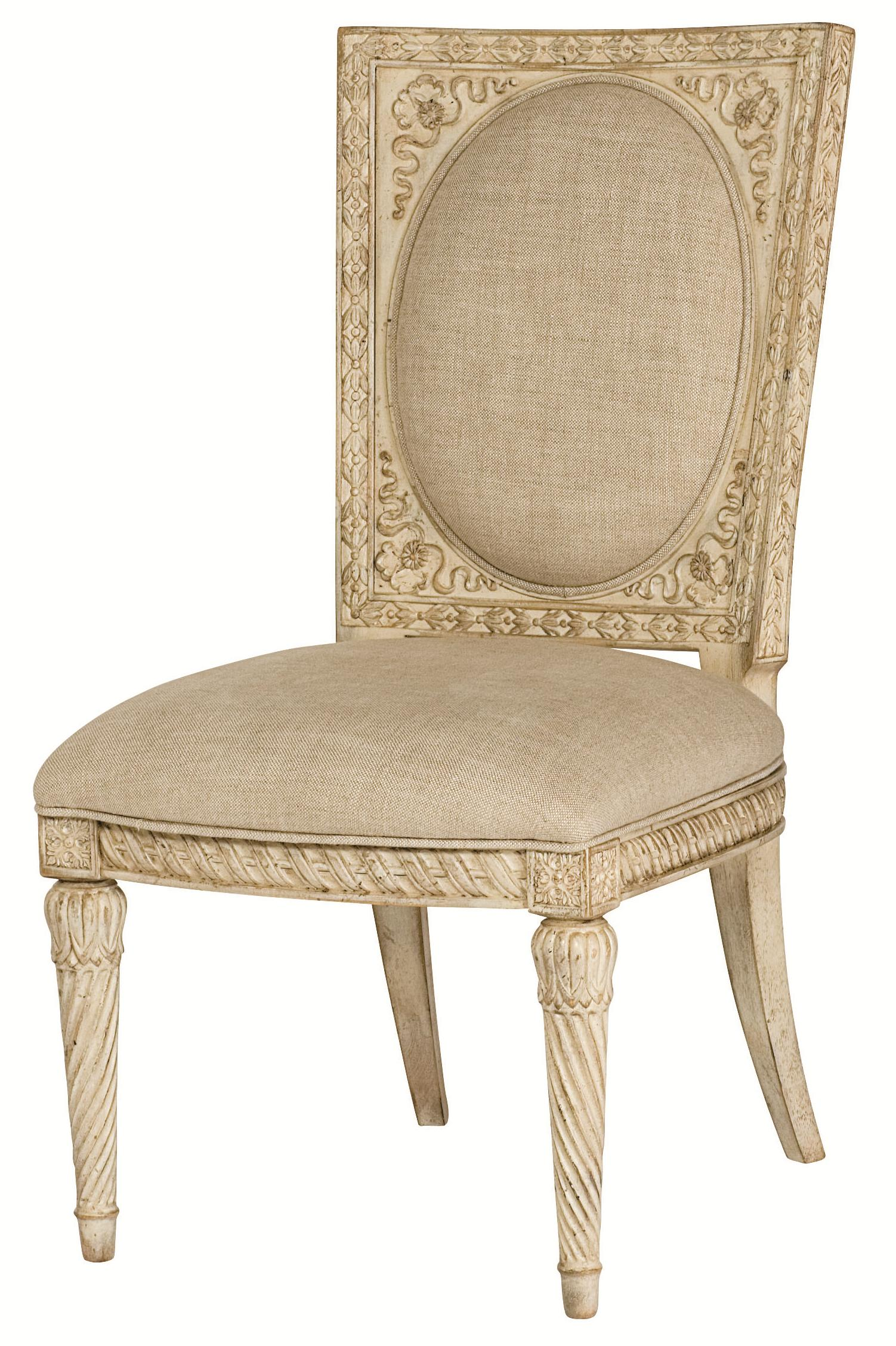 American Drew Jessica McClintock Home - The Boutique Collection Cane Back Accent Chair - Item Number: 217-638W