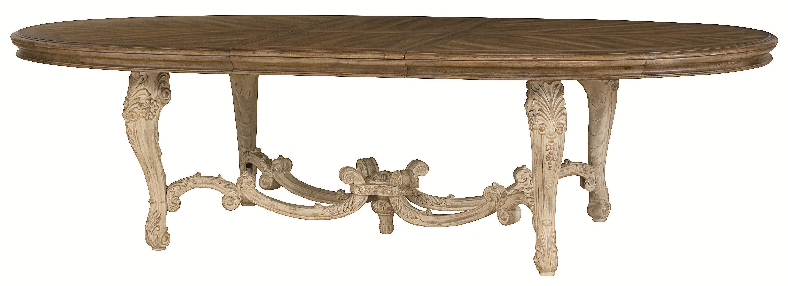 American Drew Jessica McClintock Home - The Boutique Collection Oval Dining Table - Item Number: 217-746R