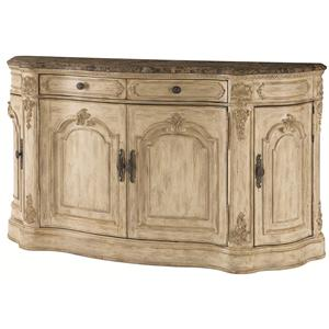 American Drew Jessica McClintock Home - The Boutique Collection Buffet with Marble Top