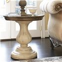 American Drew Jessica McClintock Home - The Boutique Collection Pedestal End Table with Revival Top - 217-918W