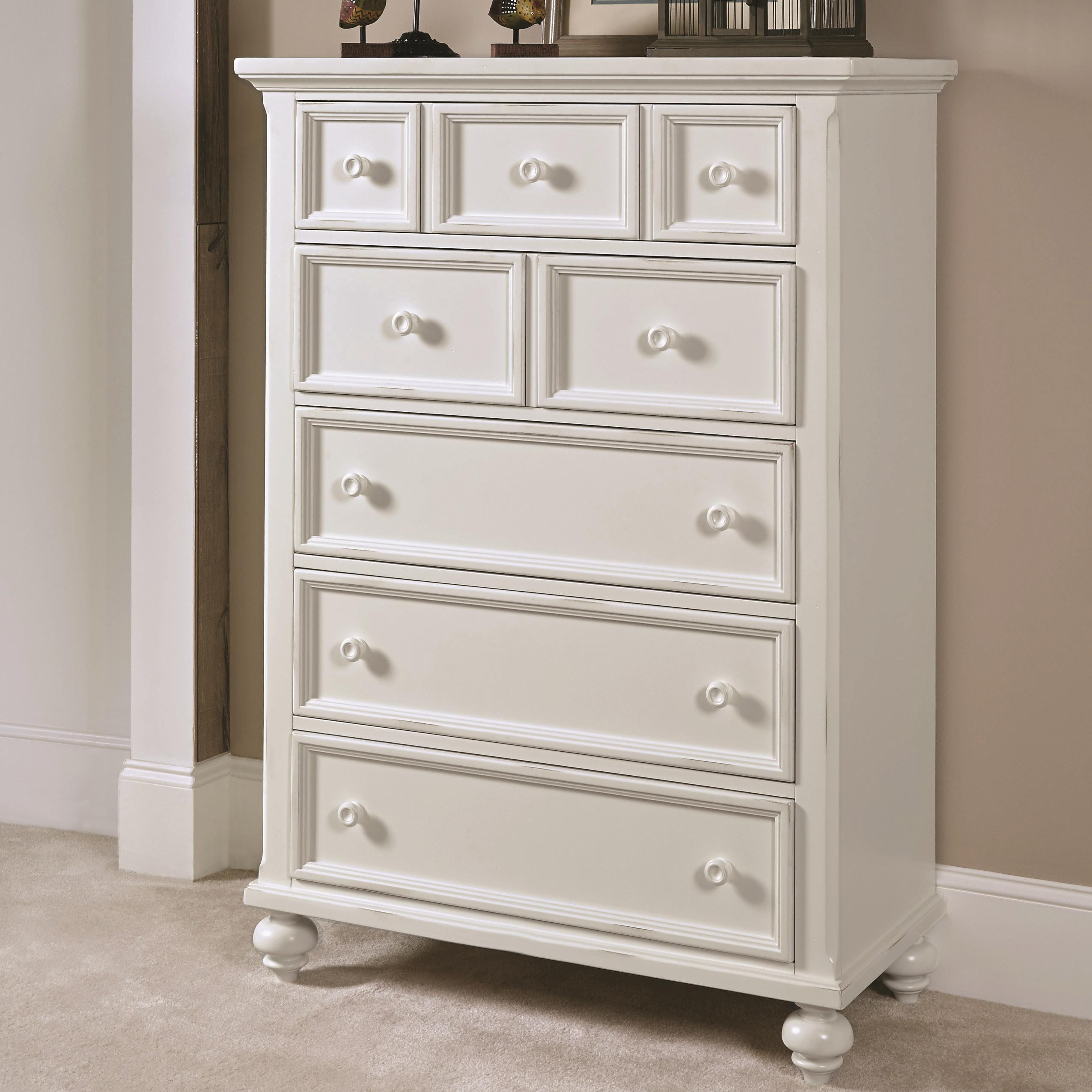 American Drew Lynn Haven Drawer Chest                               - Item Number: 416-215