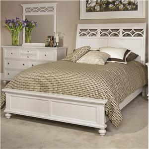 American Drew Lynn Haven Queen Sleigh Bed